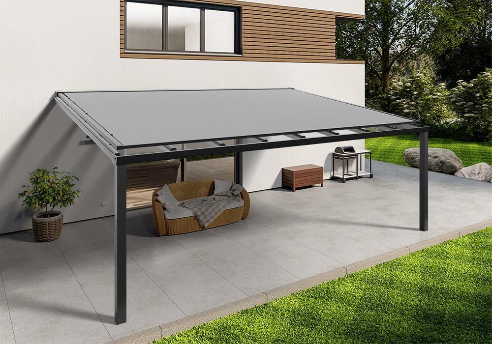 Shop Terassendach anthrazit glas aufdachmarkise 600 400 -